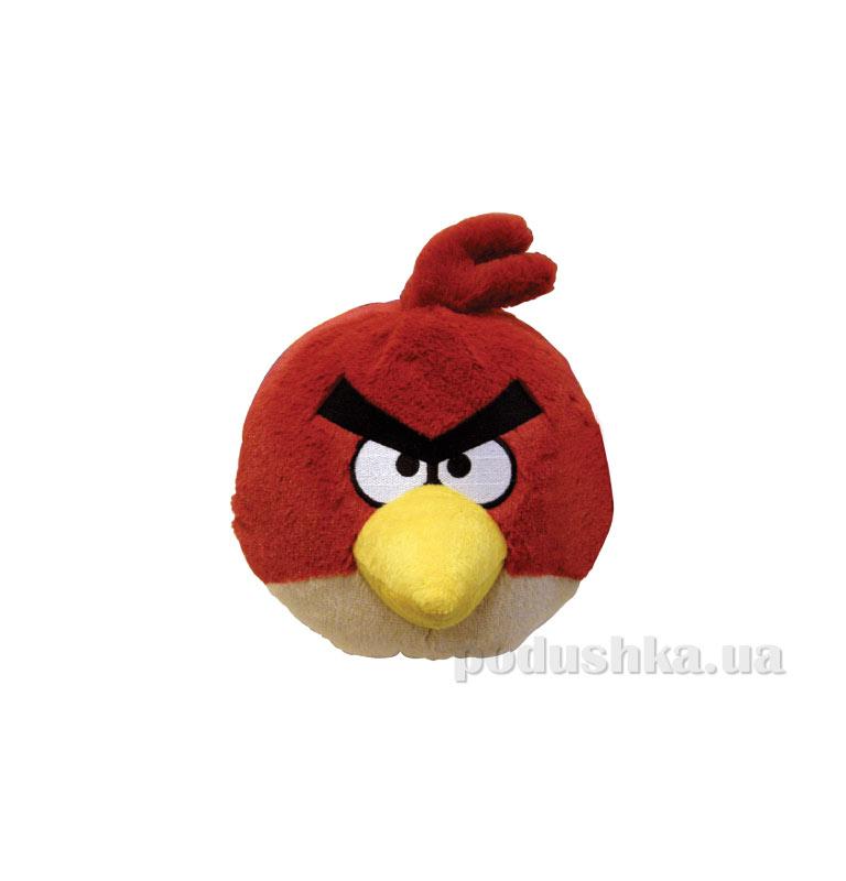 Мягкая игрушка Angry Birds птичка-красная 90904