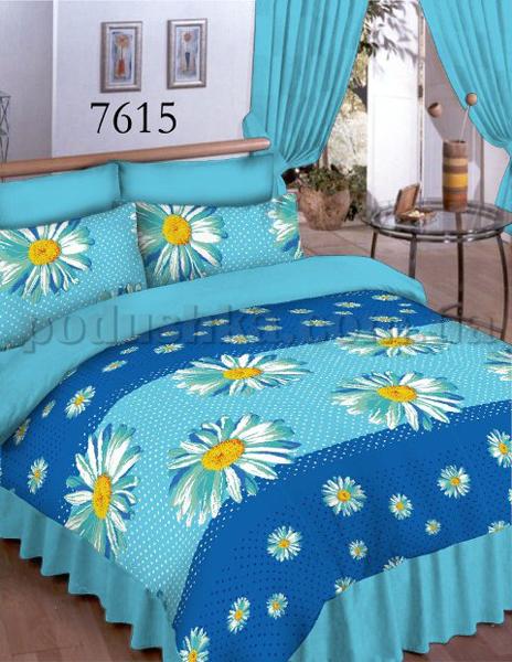 Постельное белье Вилюта ранфорс-Классик 7615 голубой