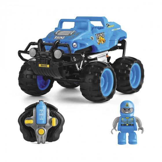 Автомобиль Monster Smash-Ups Crash Car на радиоуправлении Носорог синий, аккум. 4.8V TY5873C-1 6900006487451