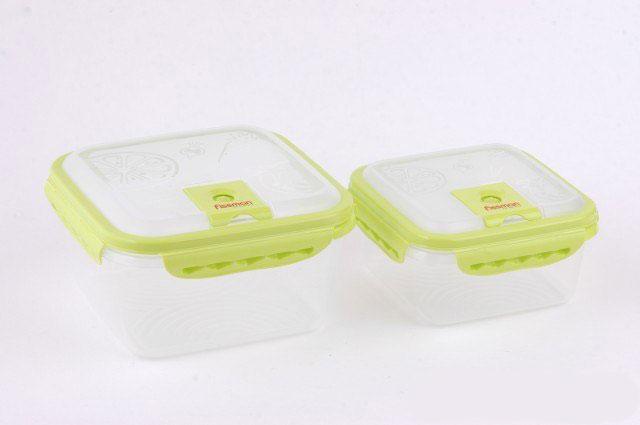 Набор прямоугольных контейнеров для хранения продуктов FISSMAN