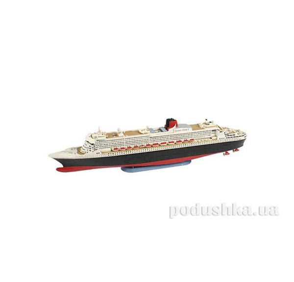 Конструктор Model-Set Пароход-люкс Queen Mary 2 1:1200 Revell 65808   Revell Controll