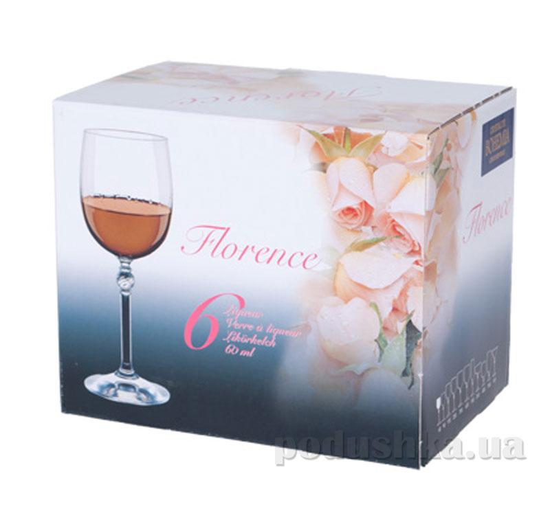Набор рюмок для водки Bohemia Florence 60 мл 6 шт. 4S004/00000/060   Bohemia