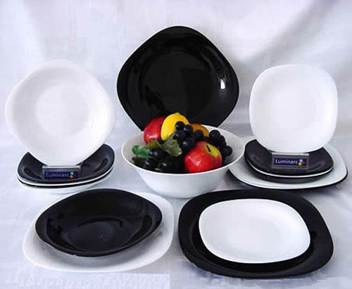 Сервиз столовый Luminarc CARINE white&black 30 предметов