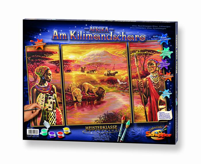 Художественный творческий набор Килиманджаро 3 в 1