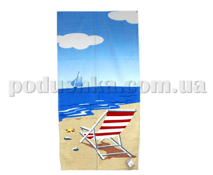 Полотенце пляжное Home line Шезлонг