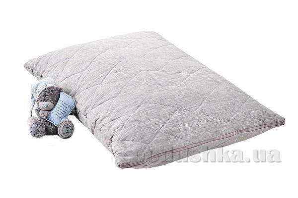 Подушка детская льняная стёганая Хэппи лен 35x35 см вес 270 г Хэппи Лён