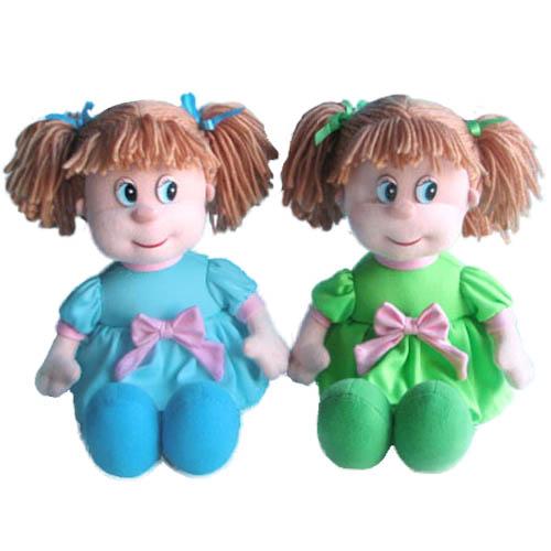 Мягкая игрушка - Кукла Ляля музыкальная 21см