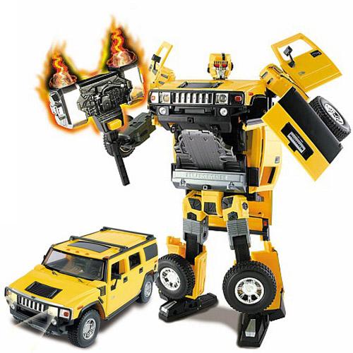 Робот-трансформер Хитбот - Hummer (1:18)