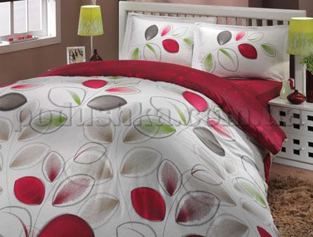 Постельное белье Hobby Blossom бордовый