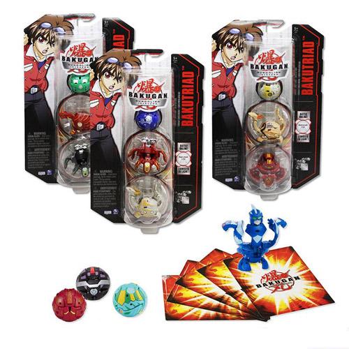 Игрушка BAKUGAN BAKUTRIAD S3 (Starter Pack)