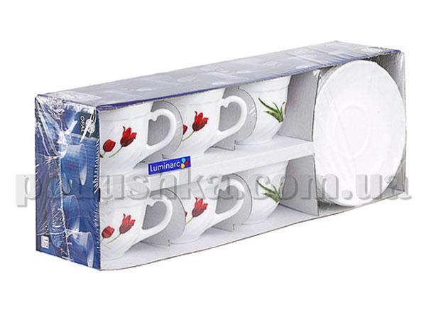Чайный сервиз Luminarc TULIP 12 предметов