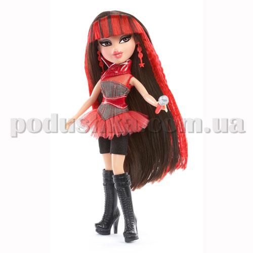 Кукла Bratz серии Рок-звезды - Джейд с игрушечным микрофоном