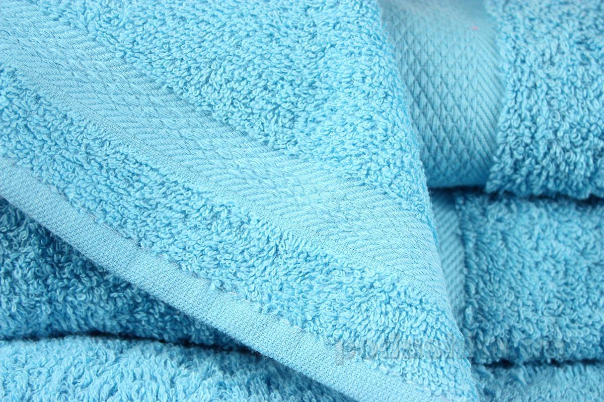 Махровое полотенце IzziHome Smiley бирюзовое 30х30 см  Izzihome