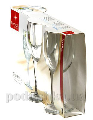 Набор бокалов для вина Diamante 250 мл   Bormioli
