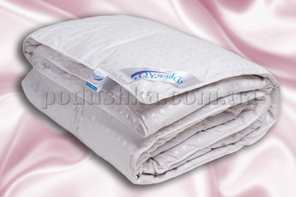 Одеяло пуховое кассетное Дримко Нежность