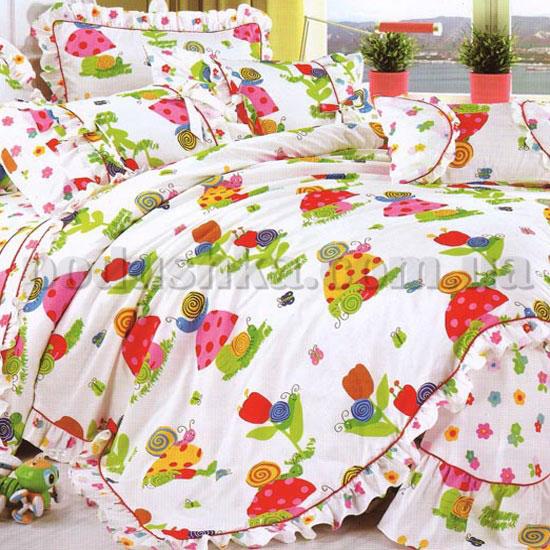 Постельное белье в детскую кроватку Love you CR 136
