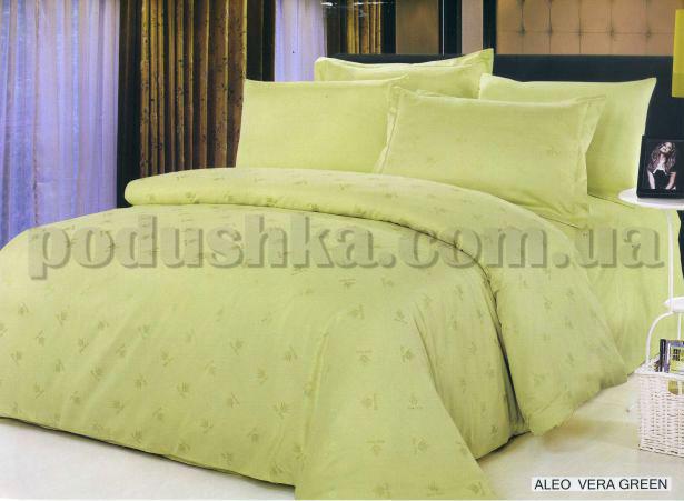 Постельное белье Arya Aloe Vera green