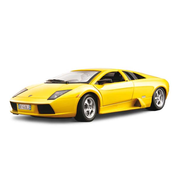 Авто-конструктор - LAMBORGHINI MURCIELAGO (2001) (желтый, 1:18)
