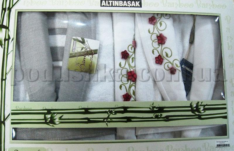 Набор Altinbasak халаты и полотенца 6