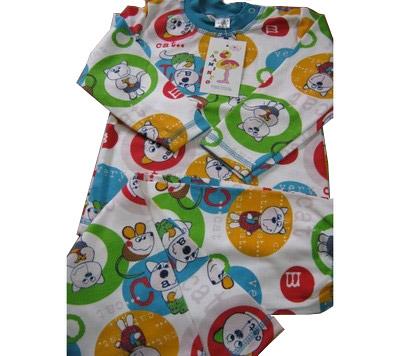 Пижама детская Фламинго 406 интерлок