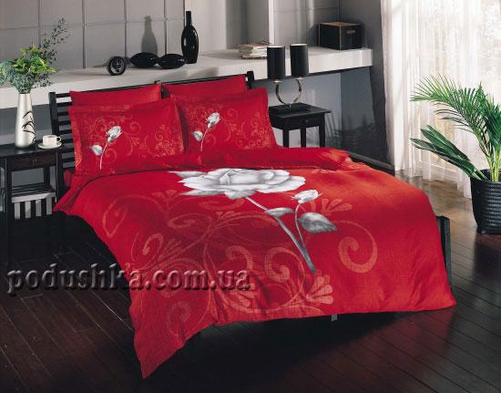 Постельное белье TAC Liana красный