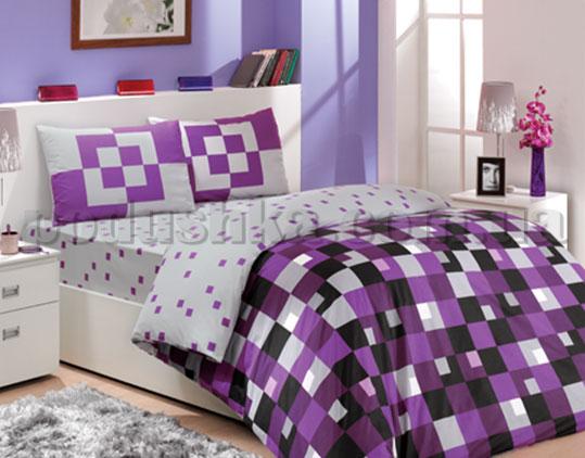 Постельное белье Hobby Mirage фиолетовый Deluxe