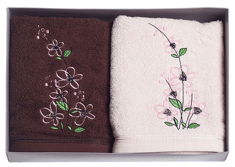 Набор махровых полотенец NILUFER