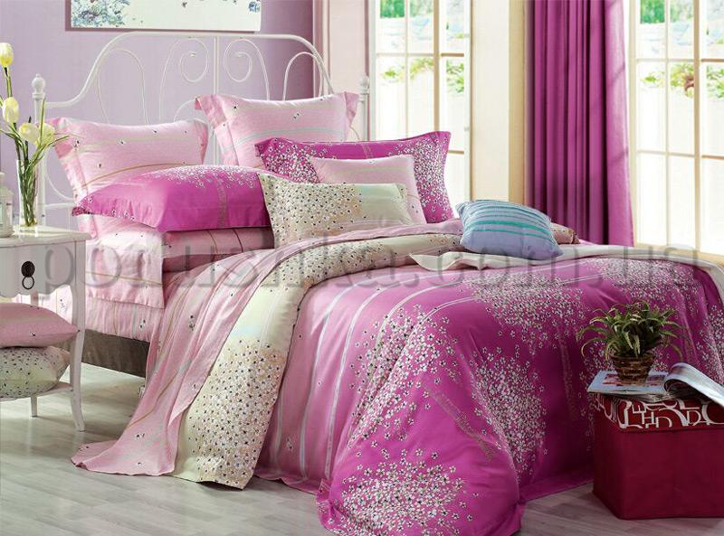 Постельное белье Home line Фиори розовый
