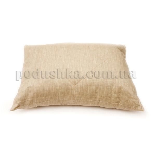 Подушка льняная взрослая