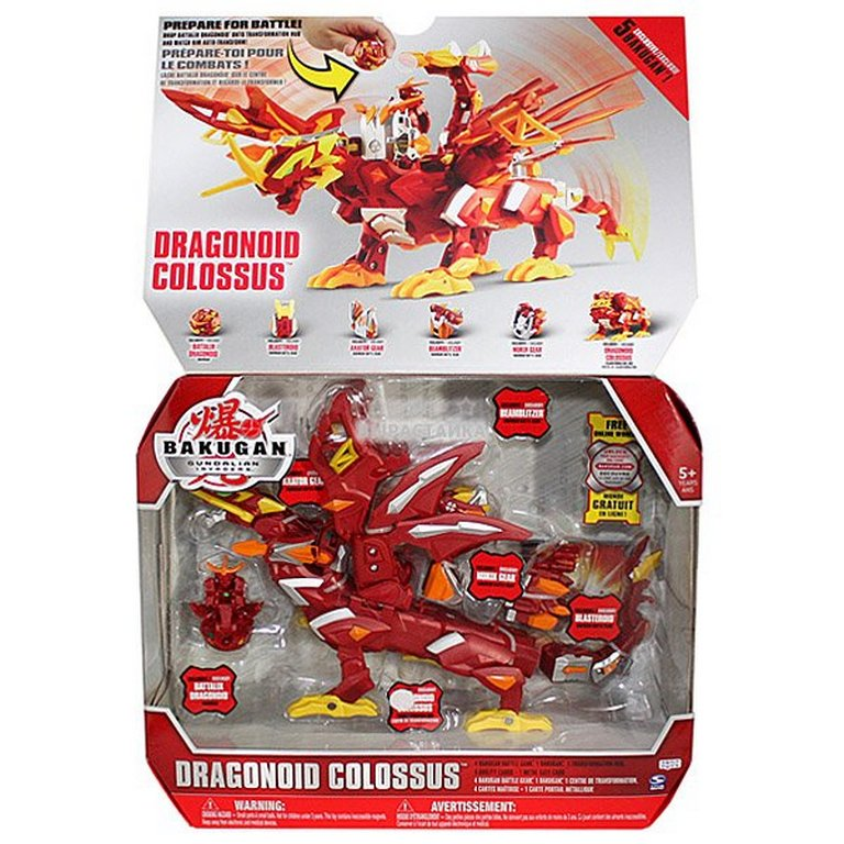 Bakugan Dragonoid Colossus S3 64361-6016152-ВК-S3