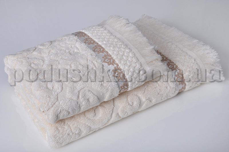 Набор махровых полотенец Pavia BENELUX ECRU бежевый