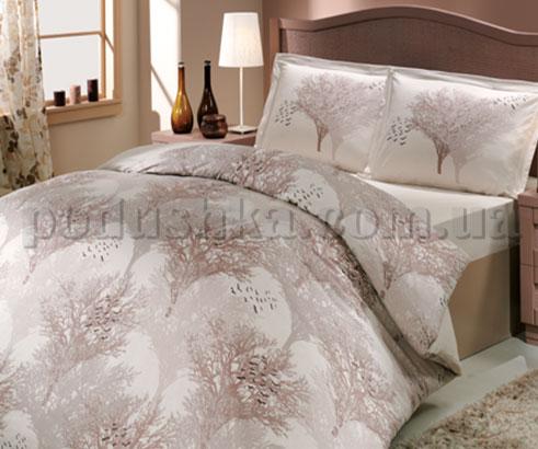 Постельное белье Hobby сатин-люкс Juillet кремовый