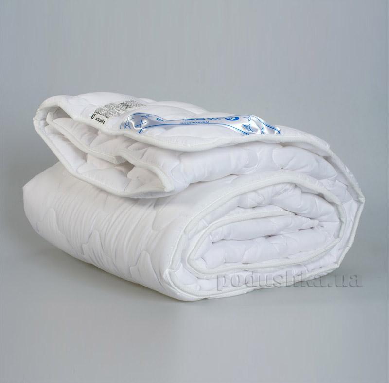 Одеяло детское Мяркис стёганное микрофибра белое 200 г/м2