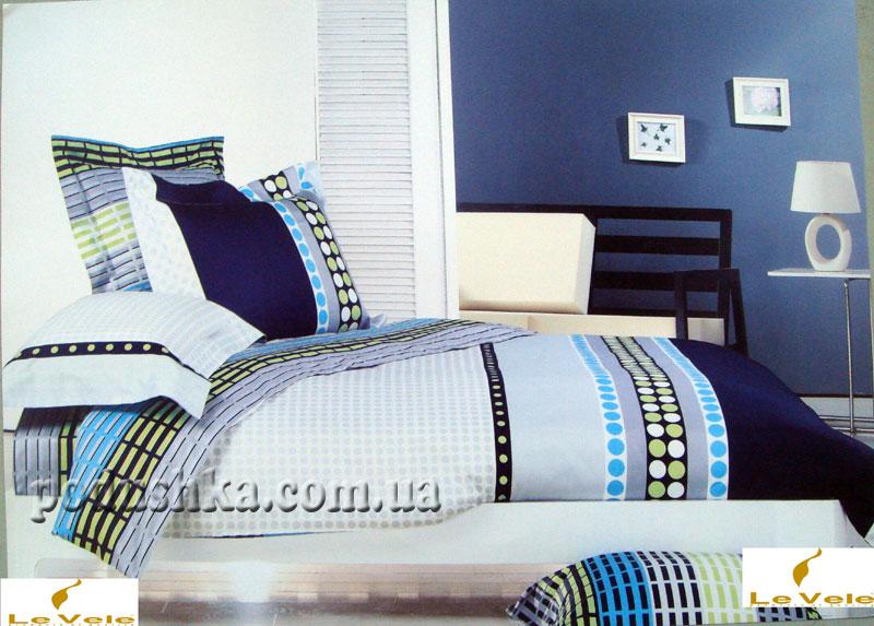 Комплект постели Delma, Le Vele Daily Saten Семейный комплект  Le Vele