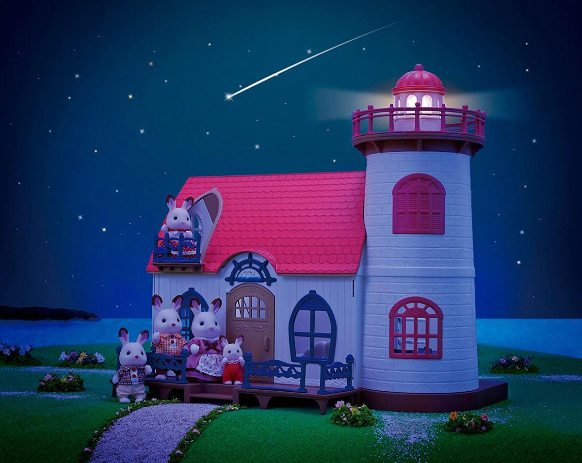 Домик-маяк с проектором Sylvanian Families 5054131052679