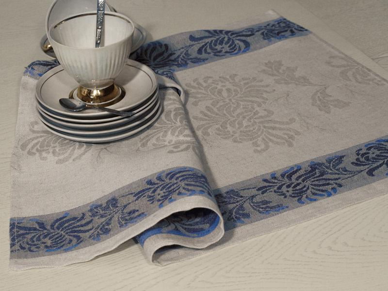 Полотенце кухонное Элли 10с319-ШР синее