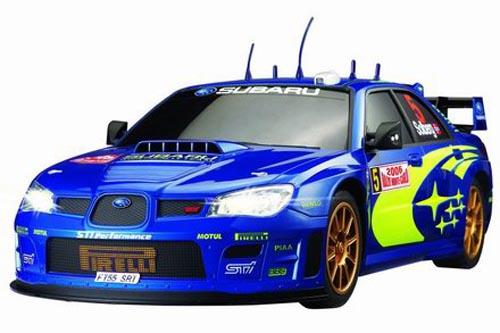Автомобиль радиоуправляемый - Subaru Impreza WRC (синий, 1:10)