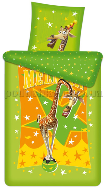 Постельное белье Мадагаскар Мелман
