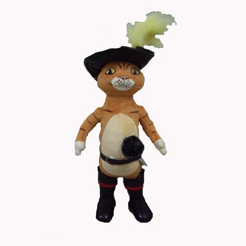 Мягкая игрушка - КОТ (муз., 22 см)