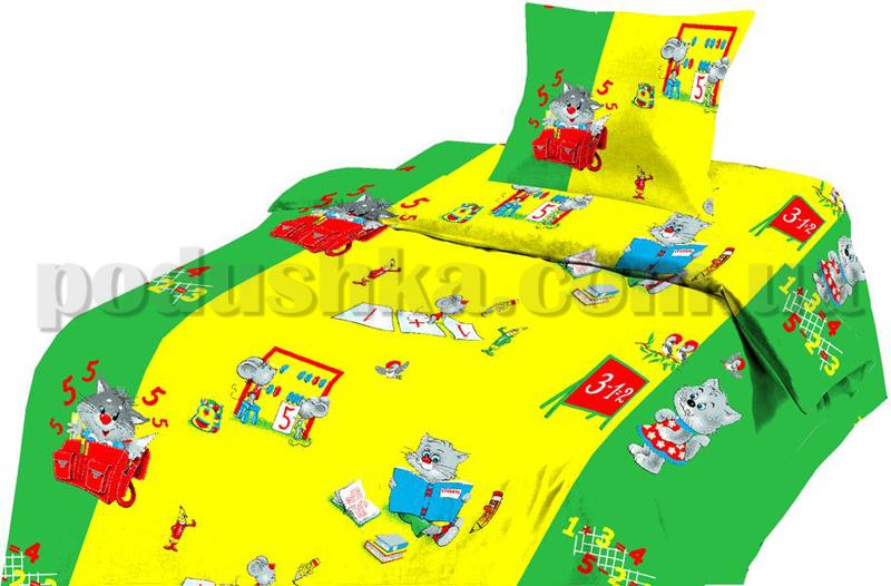 Постельное белье в кроватку Арифметика ситец (с1003_74521)