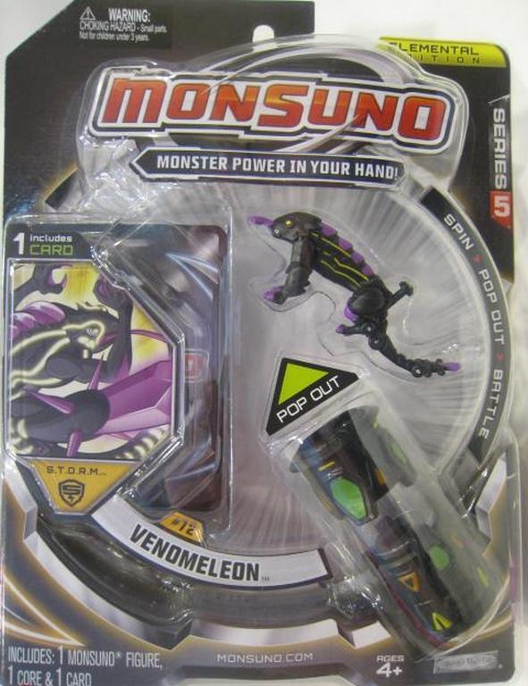 Стартовый набор Monsuno S.T.O.R.M. Venomeleon W5 34438-42920-MO