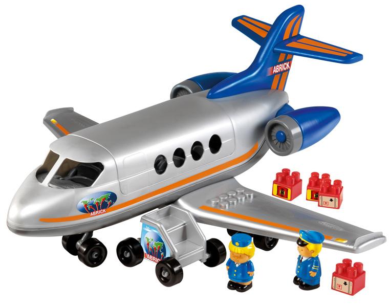 Конструктор Самолет с людьми и грузом