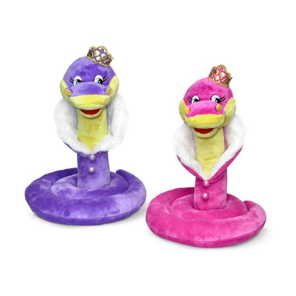 Мягкая игрушка - Кобра Царевна музыкальная, 20,5 см
