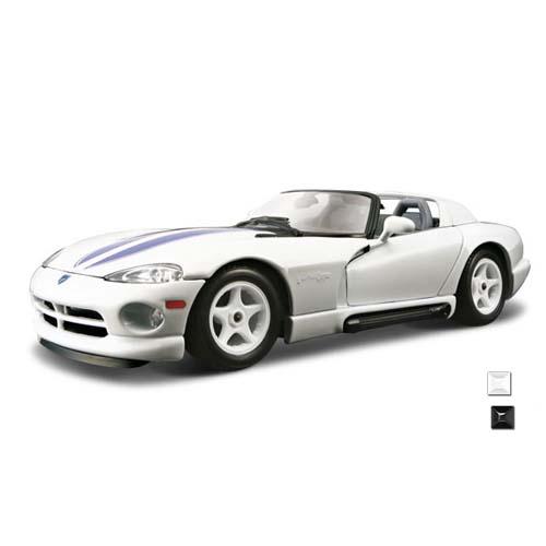 Автомодель - Dodge VIPER RT/10 (ассорти белый, черный, 1:24)