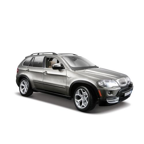 Автомодель - BMW X5 (темно-серый металлик, 1:18)