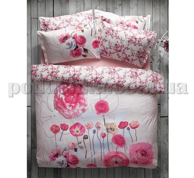 Постельное белье Karaca June розовый