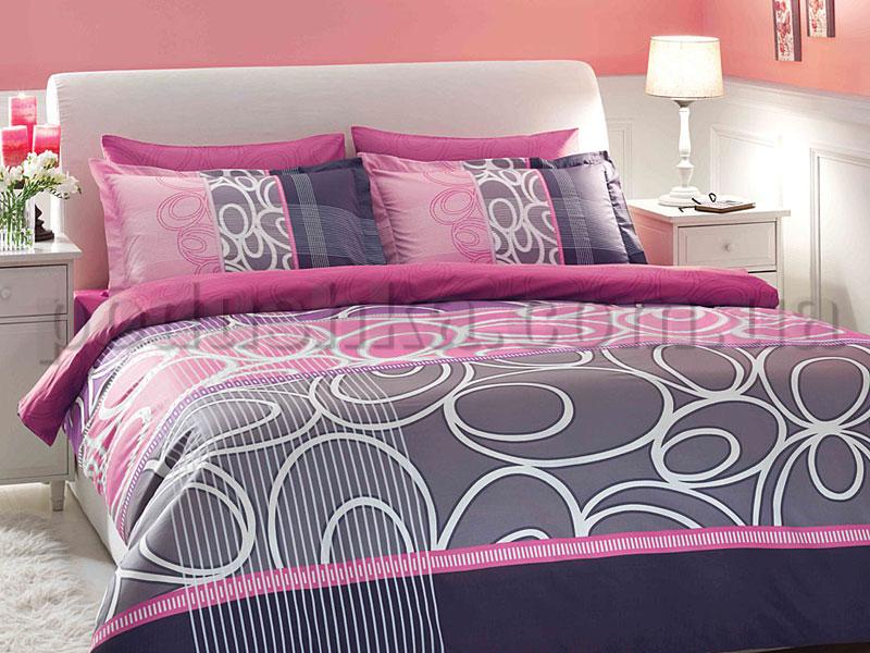 Постельное белье TAC Serra лиловый