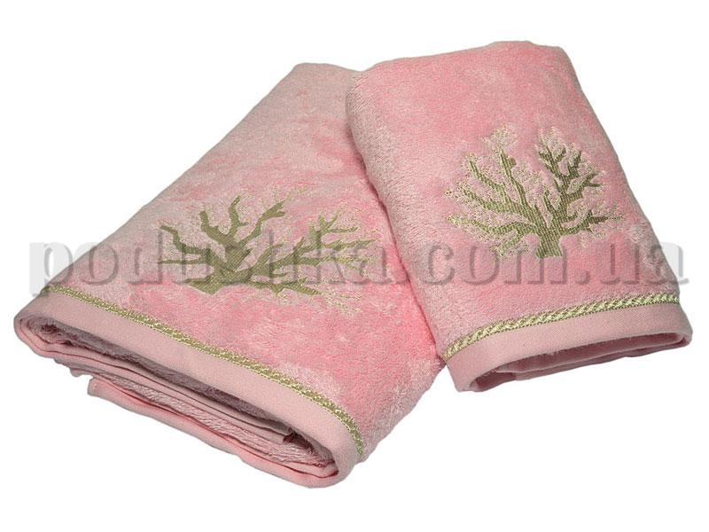 Набор полотенец Pavia TREE PINK розовый