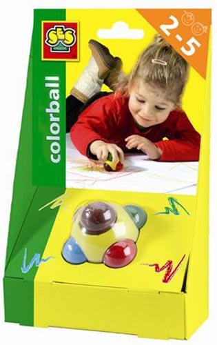 Набор цветных карандашей в едином корпусе - ЧУДЕСНЫЙ ШАР (6 цветов)