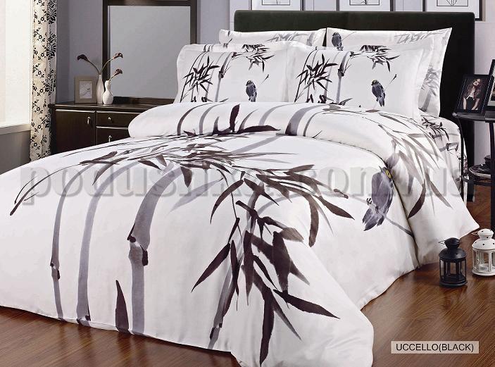 Постельное белье Arya Uccello black